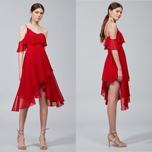 NWT Keepsake the Label Downtown red dress large